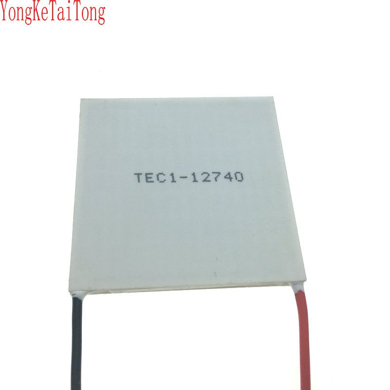 2PCS/LOT TEC1-12740 12V40A 62*62mm Temperature difference semiconductor refrigeration piece TES1 24160