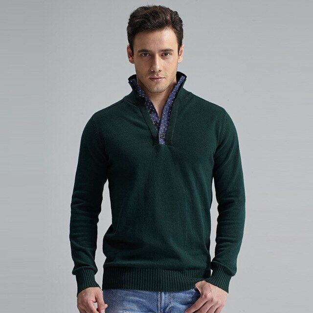 2015 New Arrival Male Sweater European Casual Style Long Sleeved Sweaters Slim Pullovers Brand Man Knitting Shirt M022