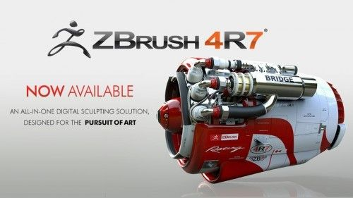 Pixologic ZBrush 4R7 for win include Training video