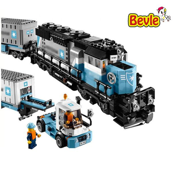 Genuine Technic Ultimate Series The Maersk Train Model Building Block Bricks Compatible With Legoings