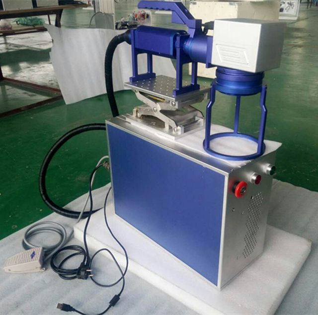 HANDHELD TYPE FIBER LASER MARKING MACHINE