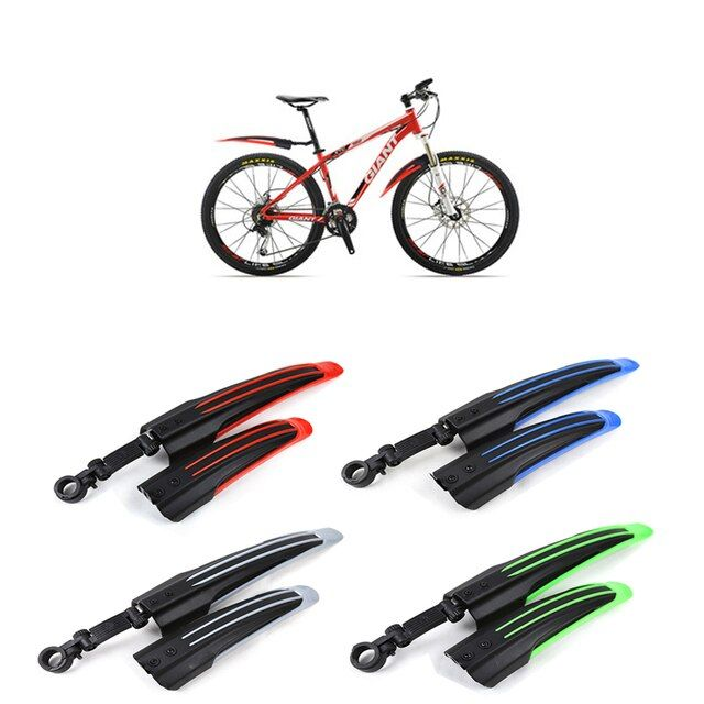 New Front Rear Bicycle Bike Mudguard MTB Bike Fenders Mountain Bike Mud Guard Tire Fenders 4 Colors