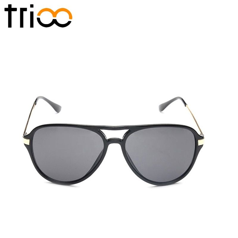 TRIOO Sunglasses Men Cool Mirror Color Sun Glasses For Men Eyewear Multicolor Lentes Oculos de sol male Mirror Lens Gafas de sol