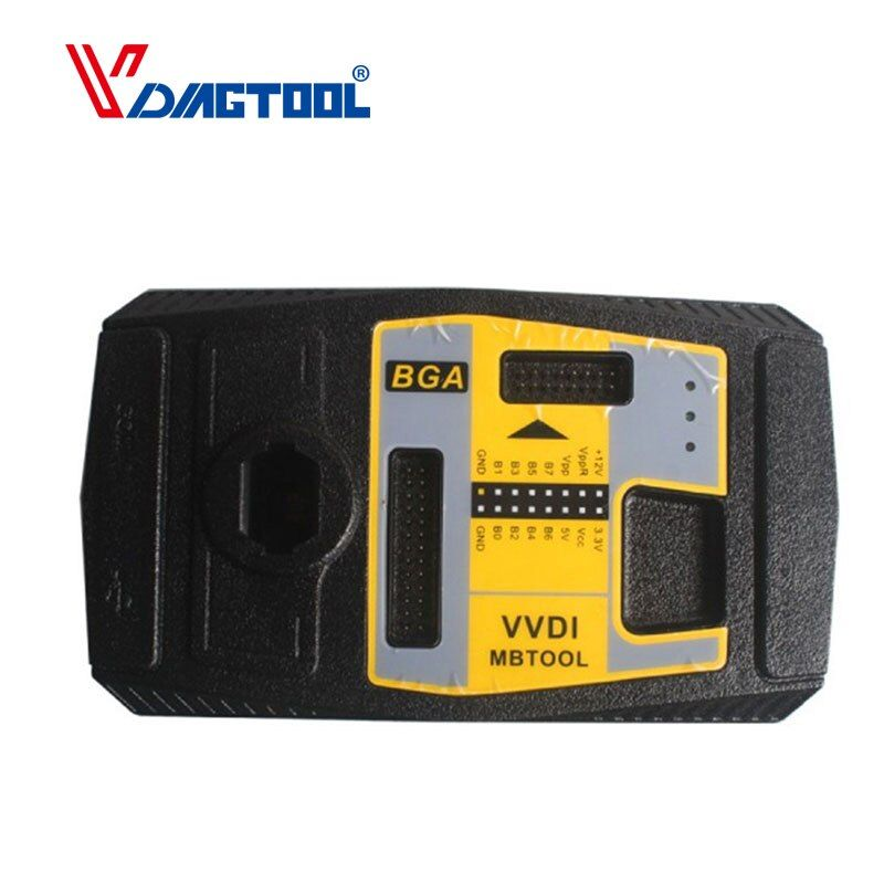 2018 New VVDI MB BGA Key Programmer Plastic SK185 8W 12V Newest Autos Key Programmer Diagnostic Tools Xhorse VVDI MB BGA Tools
