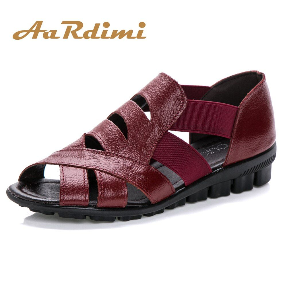 New 2017 vintage women sandals summer women shoes genuine leather cross-tied flat with gladiator sandals women flat sandals