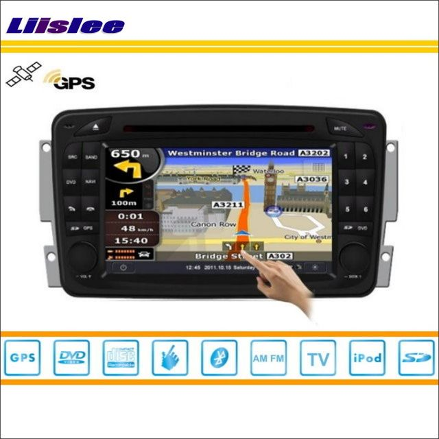 Liislee Car Android Multimedia For Mercedes Benz CLK W208 A208 / SLK R171 W171 DVD Player GPS Nav Navigation Audio Video Stereo