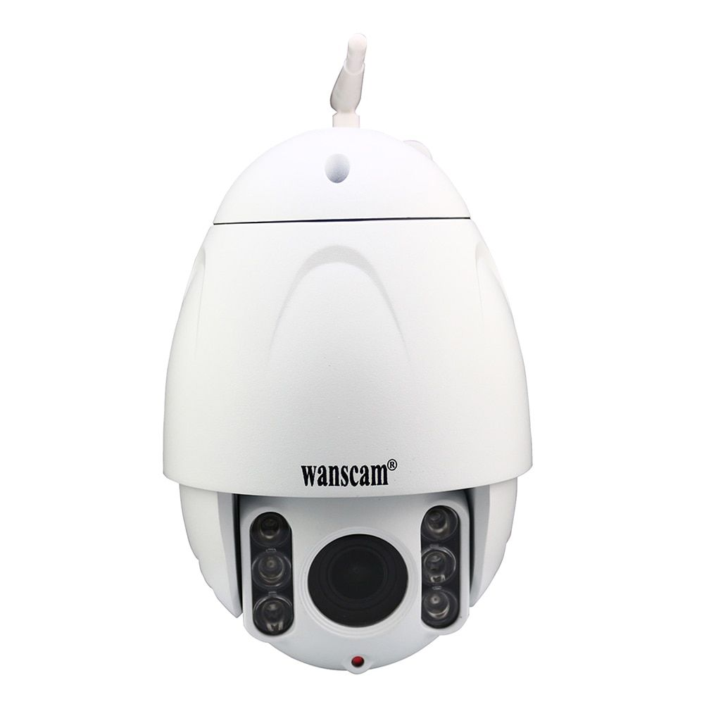 Wanscam HW0045 Wireless Outdoor Dome Onvif IP Camera 5x Optical Zoom P2P CCTV PTZ Wifi 2.0Megapixel IP Camera Night Vision