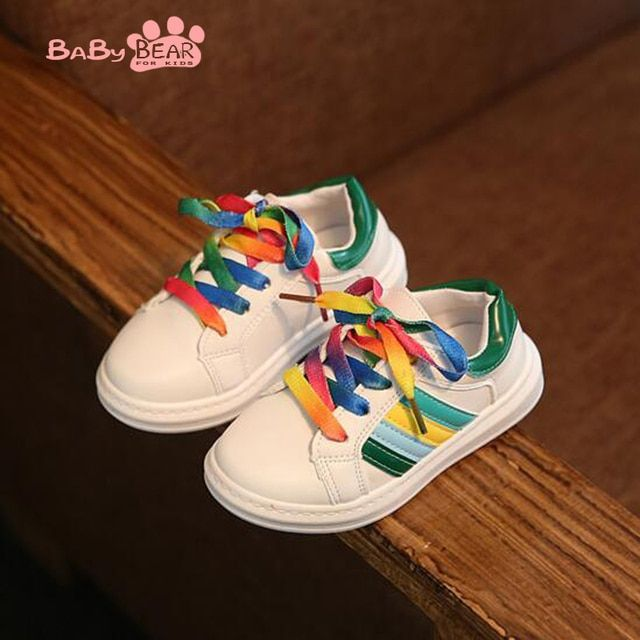 2016 new autumn children fashion sports shoes boys girls nice sneakers kids casual shoes 2 colors