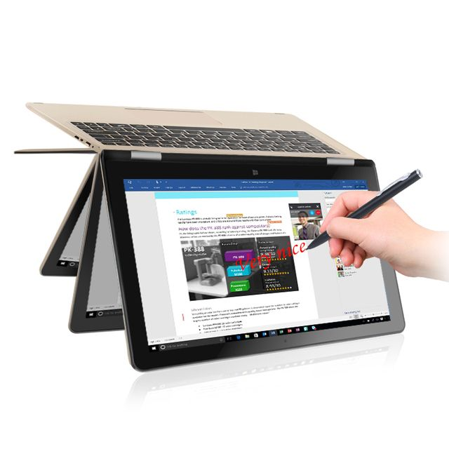 "VOYO VBOOK A1 tablet Apollo Lake N3450 Quad Core 1.1-2.2GHz Win10 11.6"" tablet pcs IPS Screen With 4GB DDR3L 120GB SSD computer"