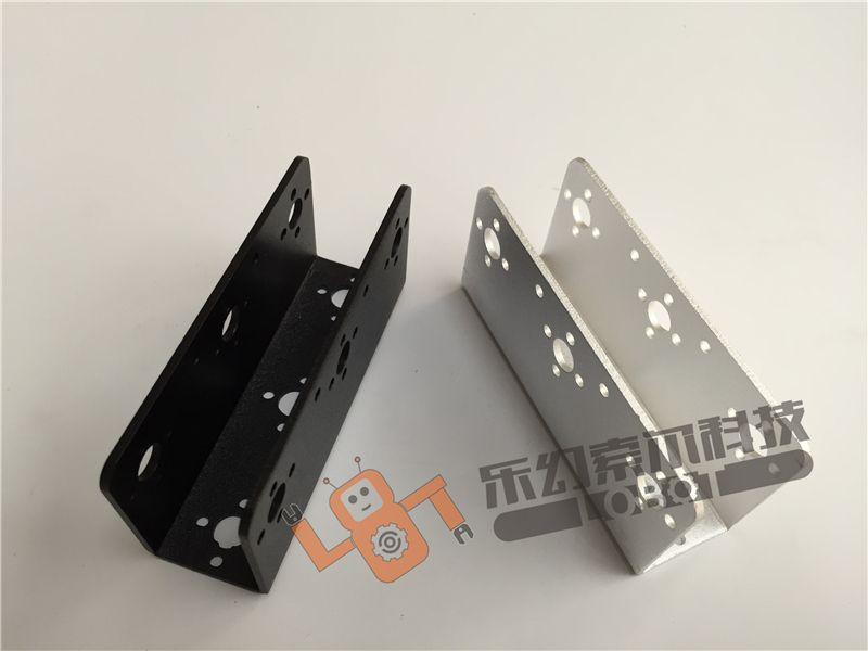 2Pcs/Lot U Style Servo Bracket Mount for Robot /Gimbal / Merchnial Arm Servo Steering Gear Accessories