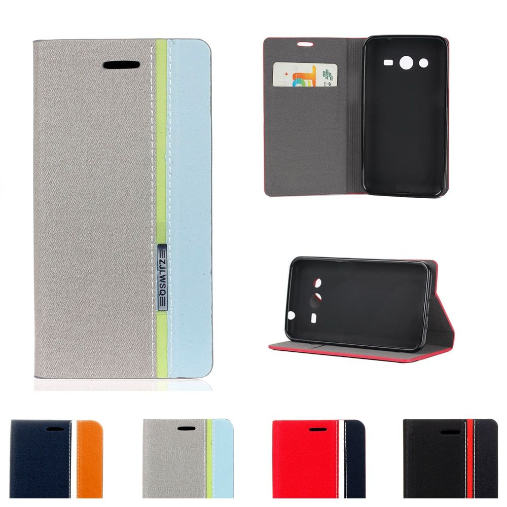 Case For Samsung Galaxy Core2 Duos Core 2 G355H DS G355HDS G355M SM-G355h/ds SM-G355H SM-G355M Flip Leather Phone Cover
