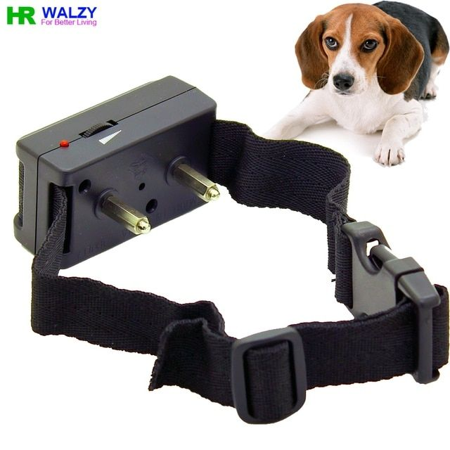 BK017 Dog Bark stop Anti Bark Training Shock Collar Terminator Bark Deterrents