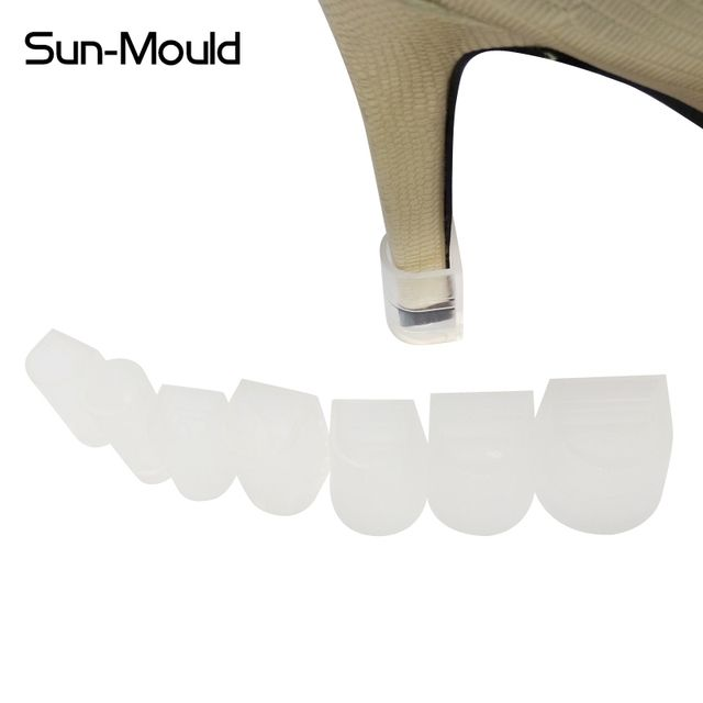 50pairs/lot 7 Size daily  high Stiletto Heel Protectors protectores tacones heel cover stoppers noiseless latin heel protector