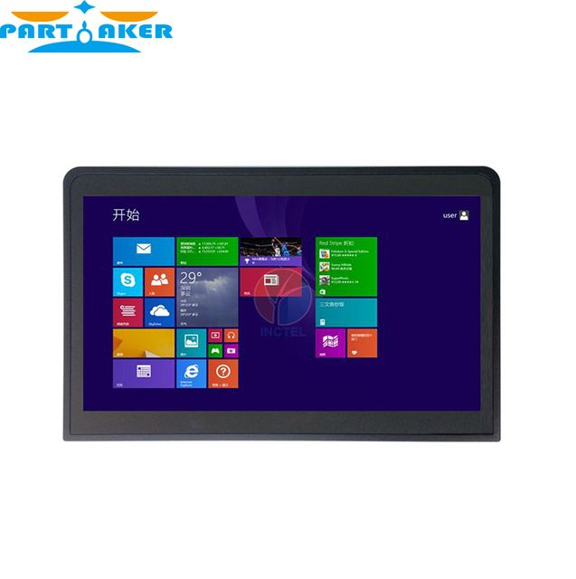 "14"" Industrial Flat Panel Tablets PC Embedded All in One Touch Screen Computer with 1G RAM 24G SSD"