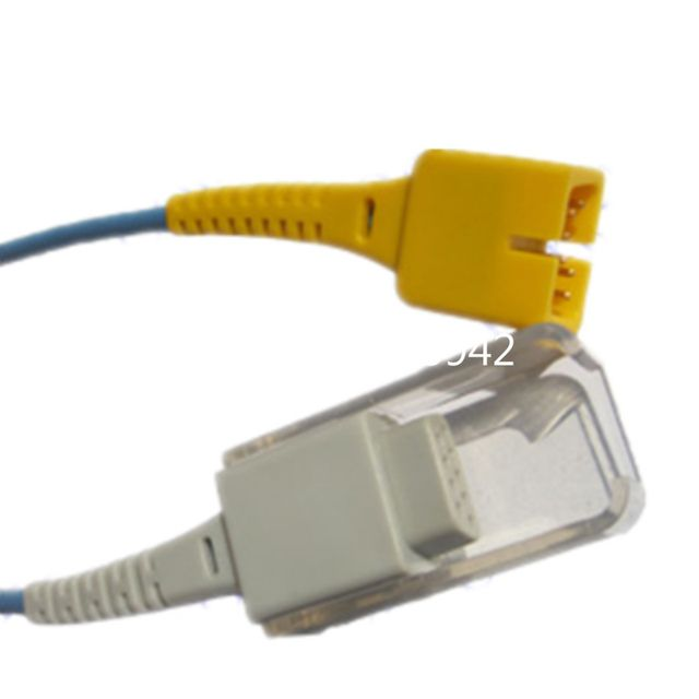 Compatible  MEK spo2 adapter cable 2.4 meters