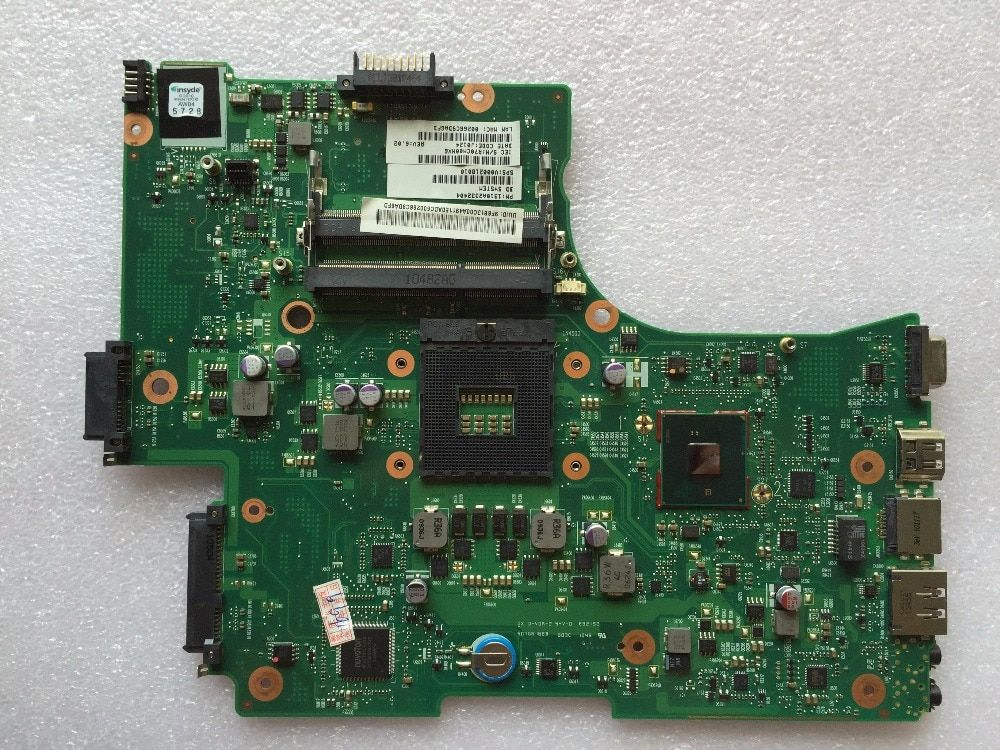 FOR Toshiba PRO L650 L655 C650 Laptop Motherboard V000218010 6500A2332402 Motherboard 100% Tested Perfect Working