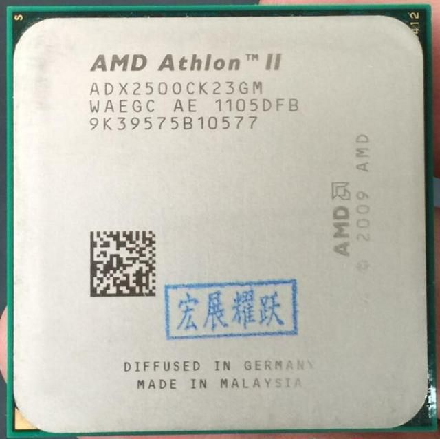 AMD Athlon II X2 250  X250  Dual-Core Desktop CPU AM3 938 CPU 100% working properly Desktop Processor