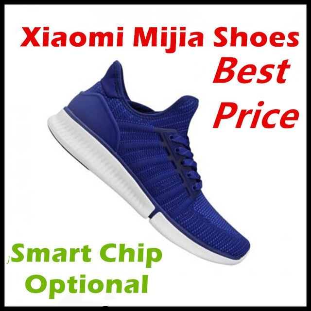 Original Xiaomi Mijia Smart Sports Sneaker Shoes High Quality Professional Fashion IP67 Waterproof APP Control No Smart Chip