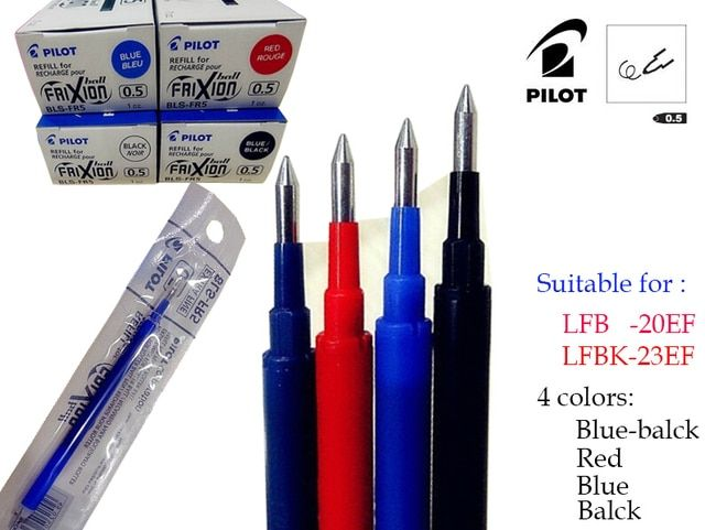 12x Gel Ink Pen Refill Japan Pilot  BLS-FR5 Suitable for pilot Pen LFB-20EF and LFBK-23EF  wholesale  FREE SHIPPING