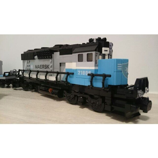 Lepin 21006  Train Building Bricks Blocks New year Gift Toys for Children Boy educational 10219