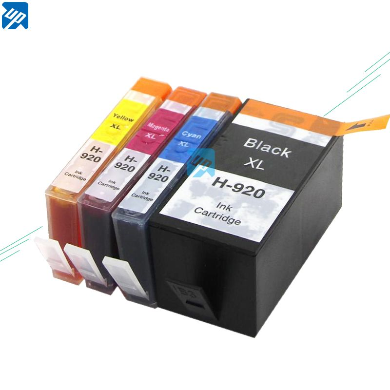 UP 12 Ink Cartridge Compatible for HP920XL 920XL for Officejet 6000 6500 6500A 7000 7500A Printer with chip full ink