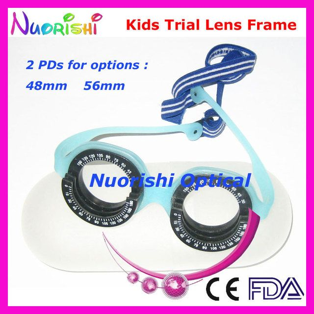 XD07 Kids Professional Optometry Vision Test Optical Trial Lens Frame For Children Only 23g Free Shipping