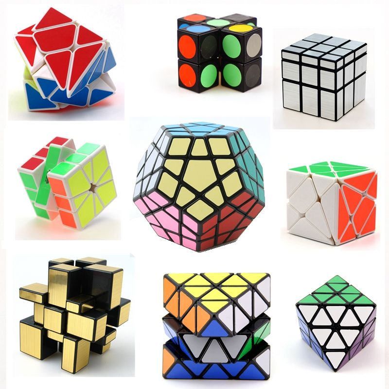 Mini Cubo 3x3x3 Magic Cube Keychain Cubes Devils Tower Blocks Pendants Puzzle Magic Cubes Learning Toys For Children