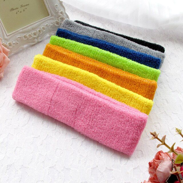 Free Shipping New Women Stretch Twist Turban Headband Sport Yoga Head Wrap Bandana Headwear Hair Accessories Sweatband