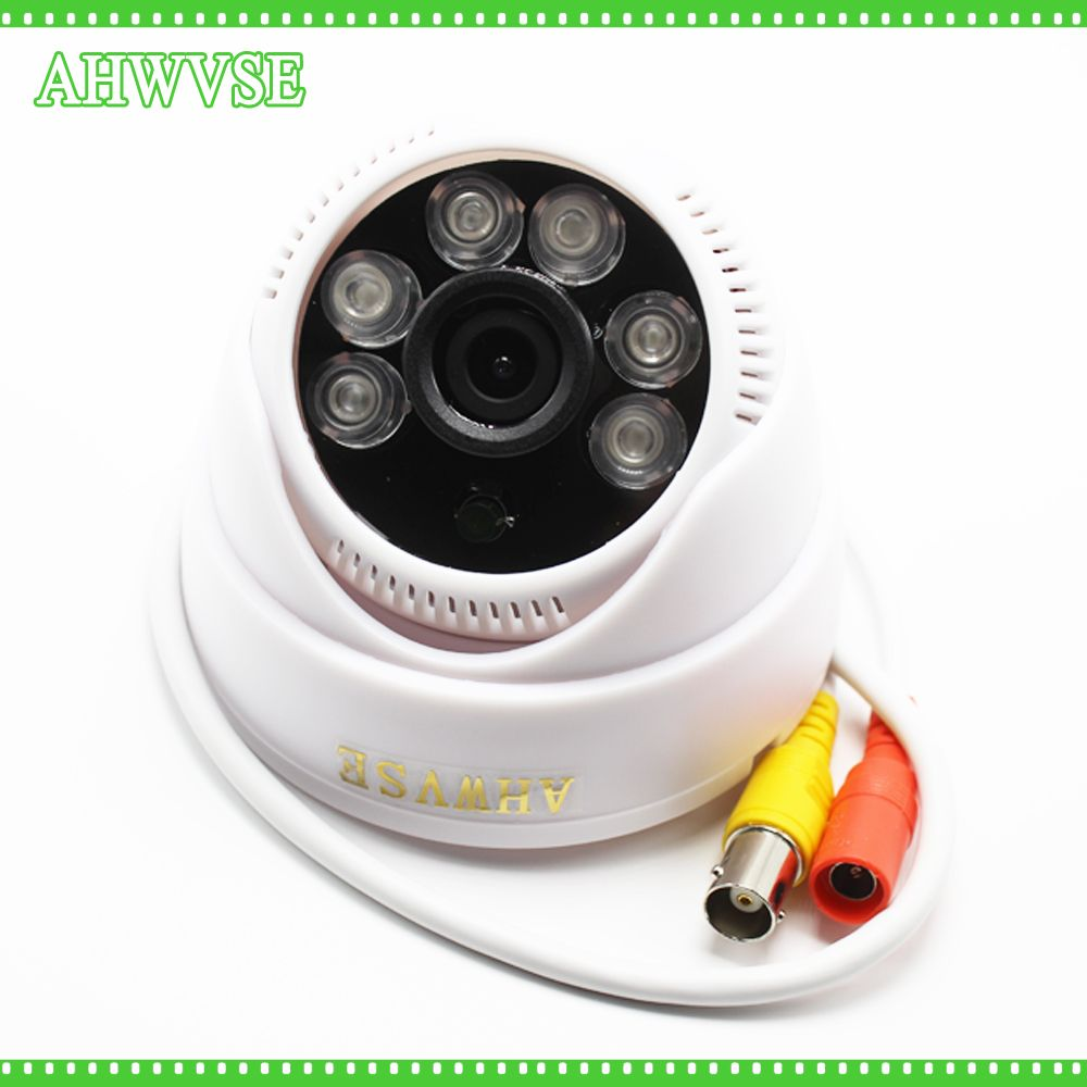 AHWVSE Wide Angle 3.6mm 1080P Surveillance Dome Cam Indoor 960P 720P CMOS Sensor FULL HD 1080P AHD Camera 2MP