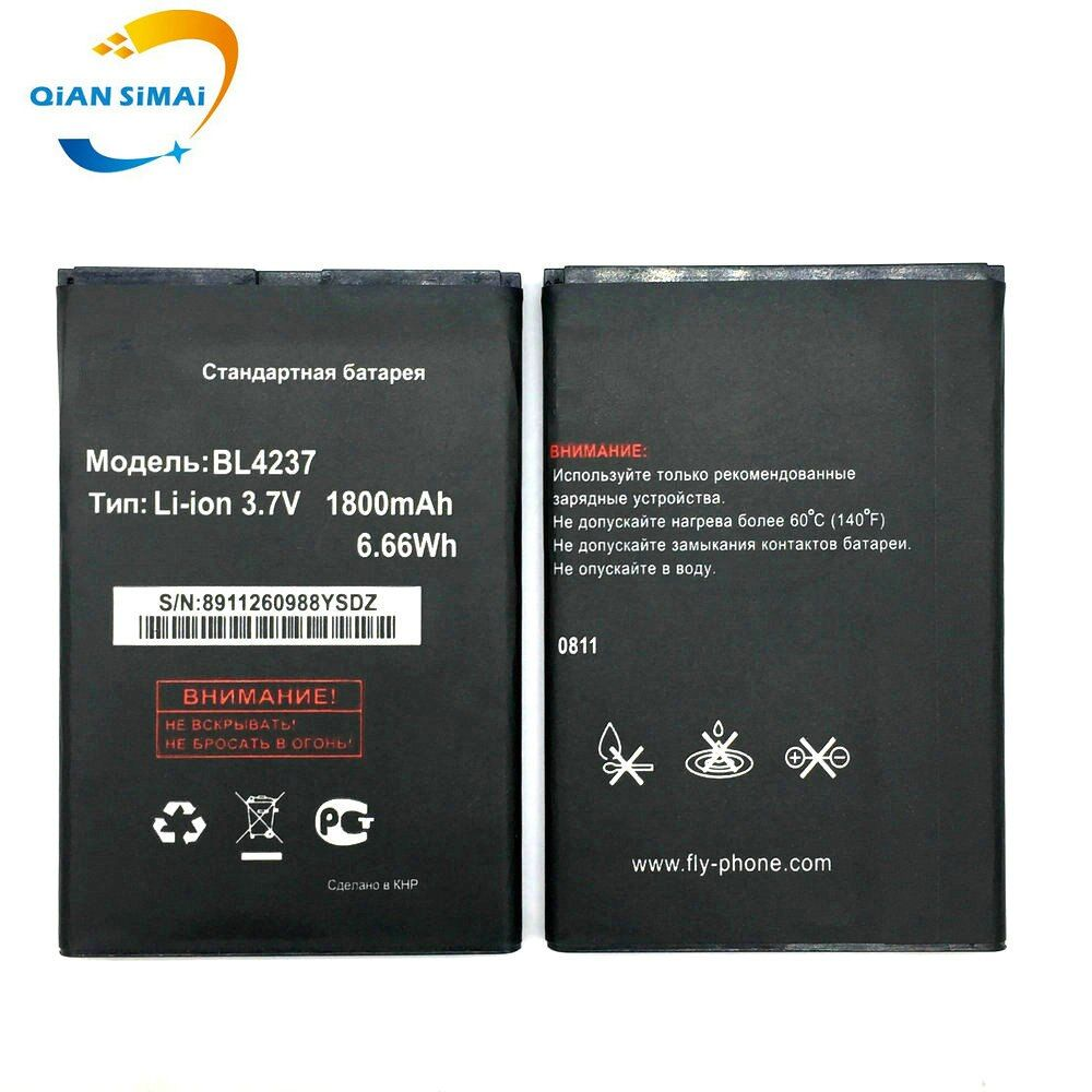 New 1PCS High quality 1300mah BL4237 battery For FLY BL4237 IQ430 mobile phone Free Shipping + Track Code
