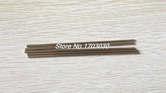 10 Pcs Car Model Toy DIY Brass Rod Axles Drill Rod Bar 3mm x 160mm