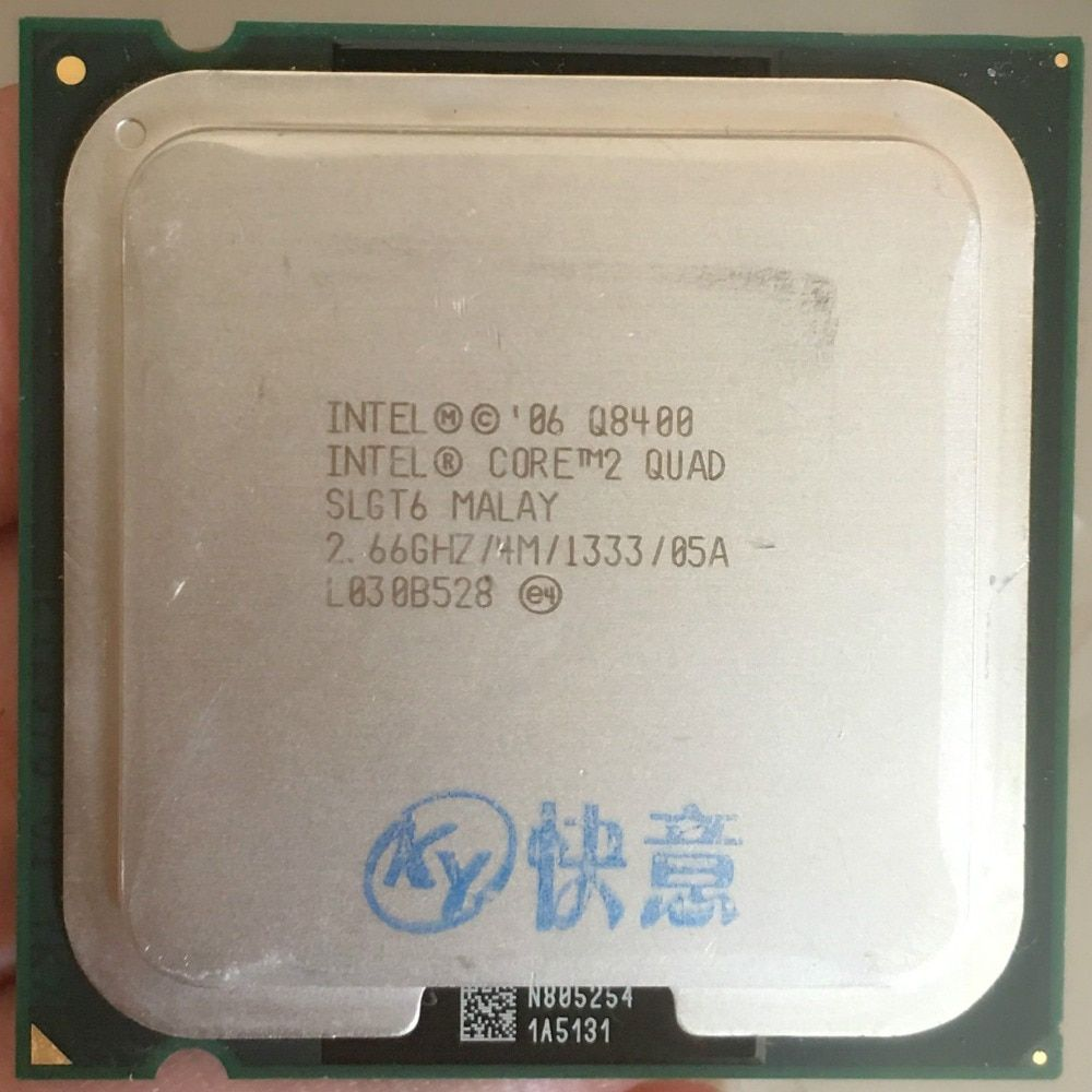 For Core 2 Quad Q8400 CPU Processor (2.66Ghz/ 4M /1333GHz) Socket 775 Desktop CPU free shipping