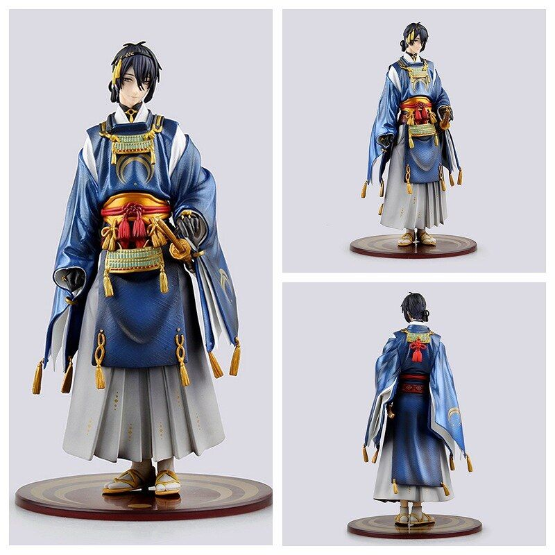 Huong Anime Figure 23 CM Touken Ranbu Online Mikazuki Munechika PVC Action Figure Collectible Model Toy