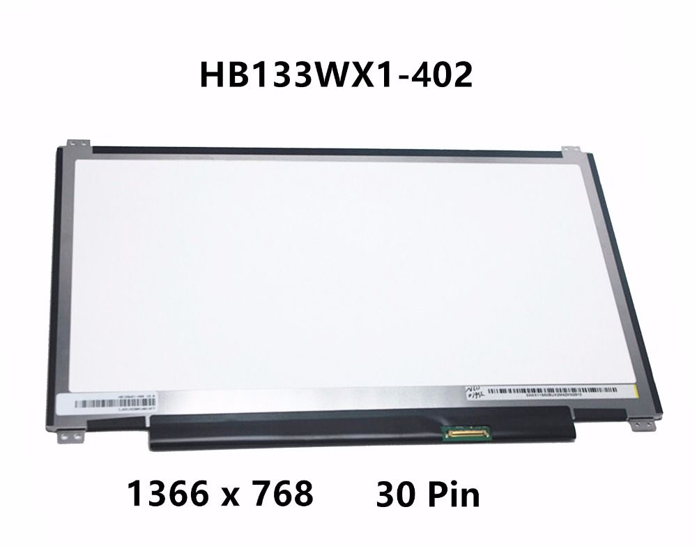"Original New 13.3"" Laptop LED eDP LCD Screen Panel Matrix Replacement HB133WX1-402 Display For Asus Q302L Chromebook C300 30 PIN"