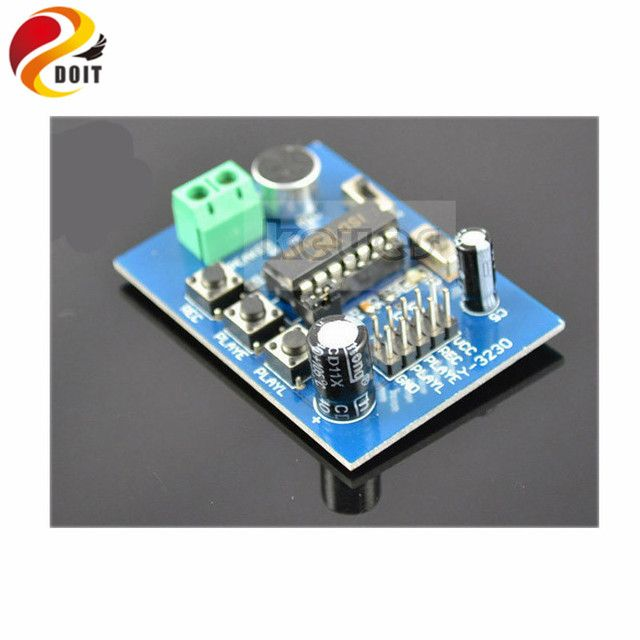 Official DOIT Blue ISD1820 Voice Playback Sound Module Development Board Kit DIY Electronic Toy 10s Recorder Player Music Robot