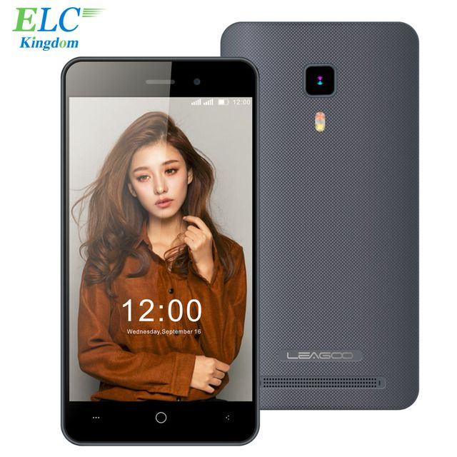 Original Leagoo Z1 Mobile Phone 4.0 Inch 3G WCDMA Android 5.1 MT6580 Quad Core 512MB RAM 4GB ROM 3MP GPS WIFI Cell Phone