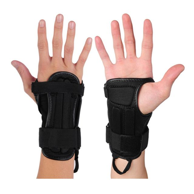 No-slip motorcycle Bike Plate Movement Hand Palm Wrist Outdoor sport Gloves Snowboard Skiing Skating Skateboard Wrist protector
