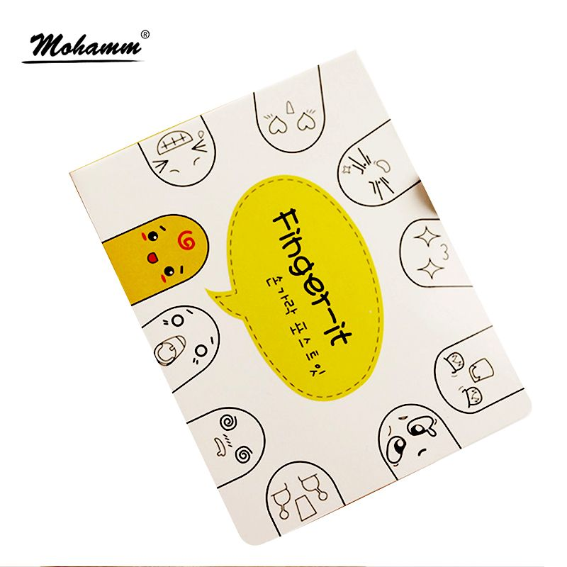 Kawaii Stickers Office Supplies Diary Cute Korean Stationery Sticky Notes  Computer Monitor Decorations Bookmark Memo