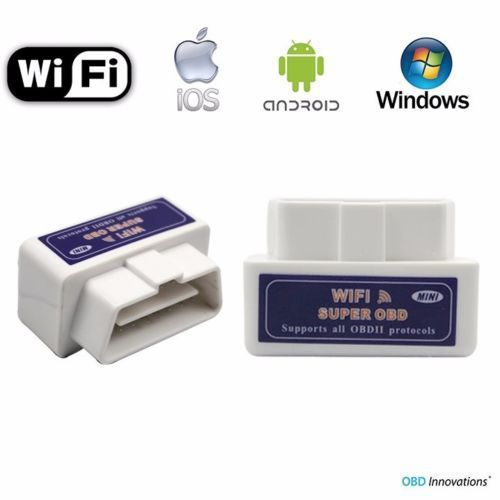 Hot sale Super Mini Wifi ELM327 hardware Real V1.5 OBD 2 II Car Diagnostic Tool ElM 327 OBD2 Scanner Support Android IOS windows