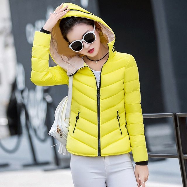2016 new Korean fashion wild Slim Down padded jacket women short paragraph coat big yards Jackets