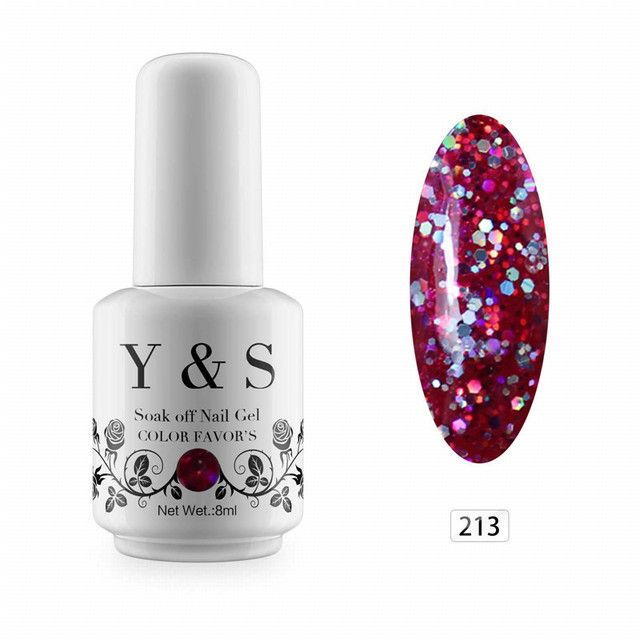 Y&S Soak Off Nail Gel Polish DIY Nail Art Led Gel Varnish Long Lasting UV Gel Polish