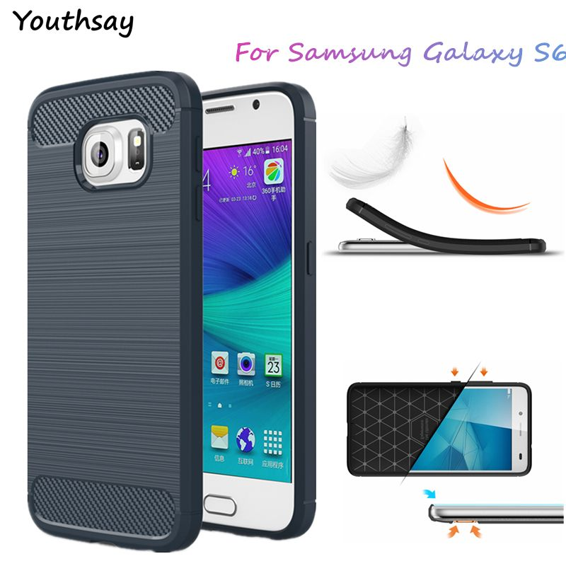 Youthsay For Case Samsung Galaxy S6 Case G920 G9200 Soft TPU Cover For Samsung Galaxy S6 Cases For Samsung S6 Phone Case