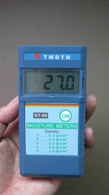INDUCTIVE MOISTURE METER digital wood moisture meter KT-50B 2%~90% Resolution: 0.1%  retali and wholesale
