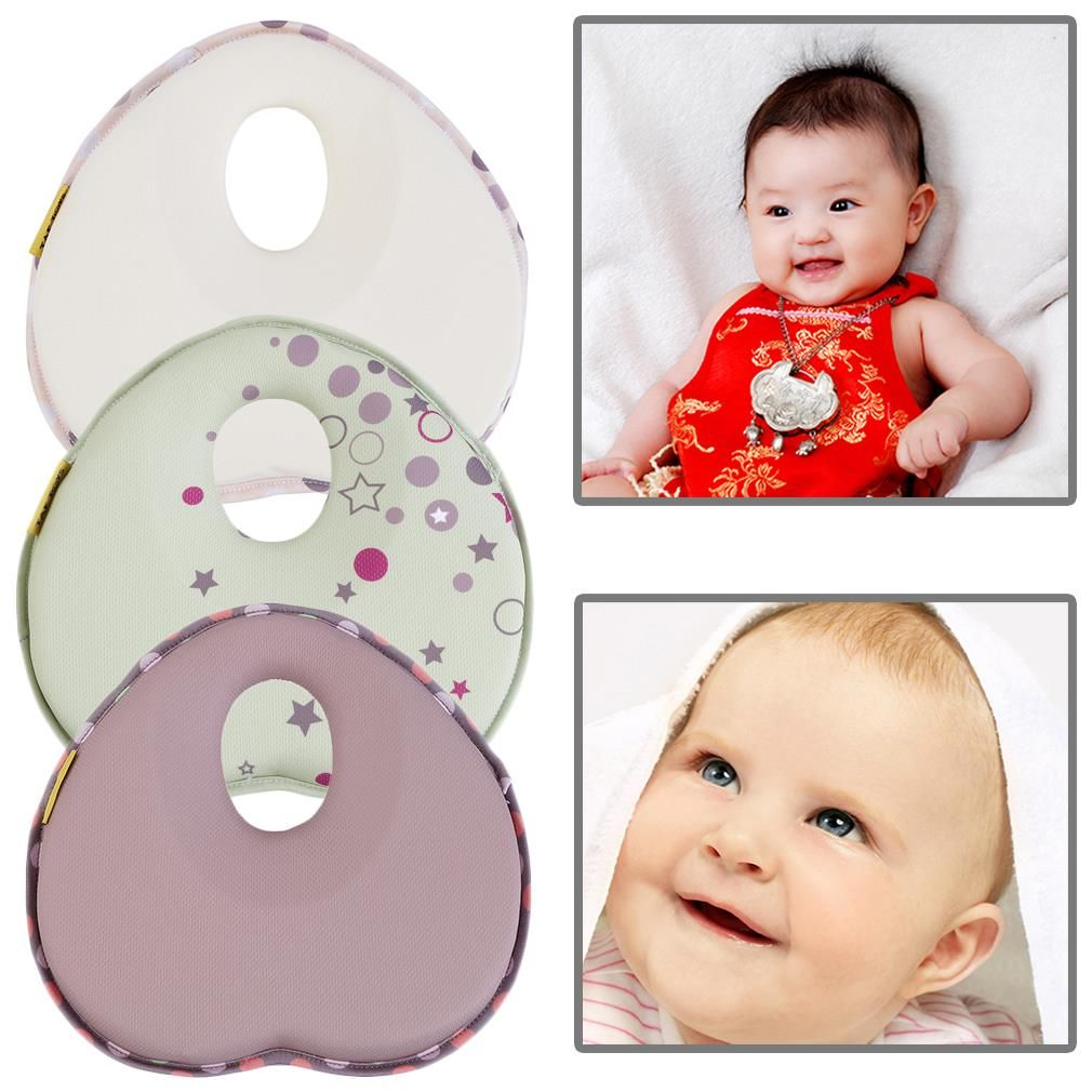 Newborn Baby Infant Anti-roll Support Positioner Head Soft Sleeping Pillow Safe Correct Baby's Sleeping Posture
