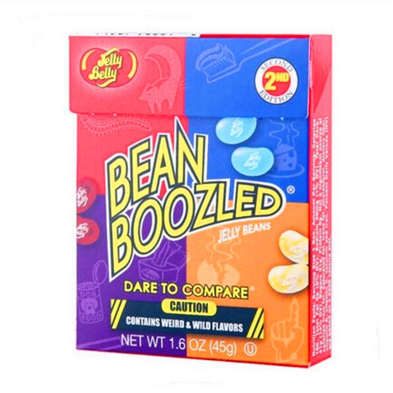Crazy Sugar Magic Beans.Harry Potter.Jelly&Belly.bean beans Boozled Trick Game Sugar bean boozled from American one box