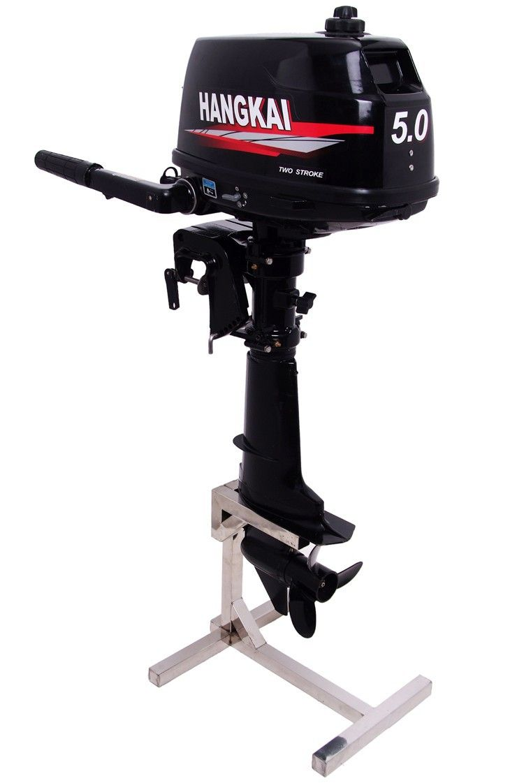 2019 New Original Hangkai 2 Stroke Outboard Motor Gasolina 5HP/3.7KW Outboard Motors For Boats