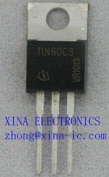 SPP11N60C3 SPP11N60 11N60C3 11N60 11A 600V TO220 ROHS ORIGINAL 10PCS/lot  Free Shipping Electronics composition kit