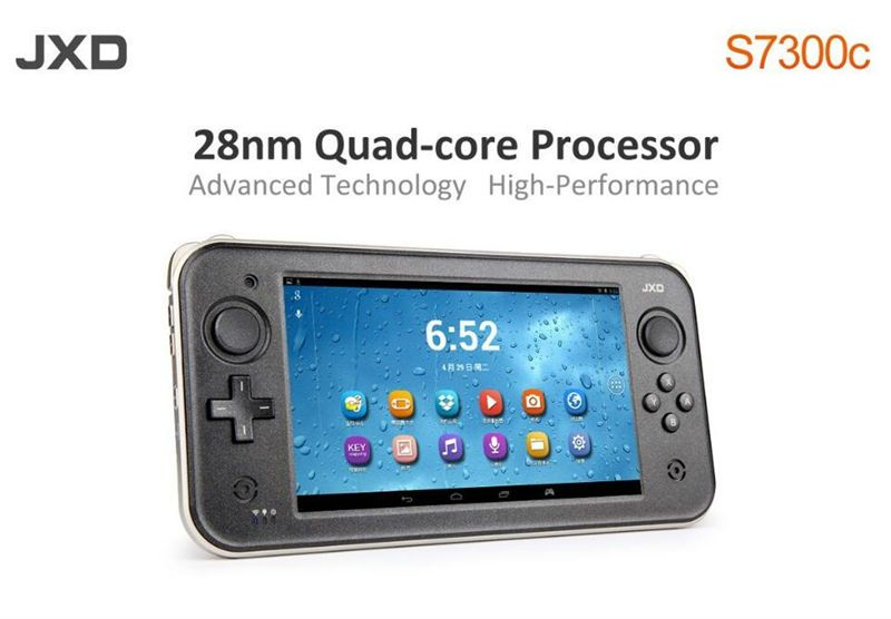 High Performance JXD S7300c 7 inch touch screen wifi hdmi quad core android game console handheld video games player tablet
