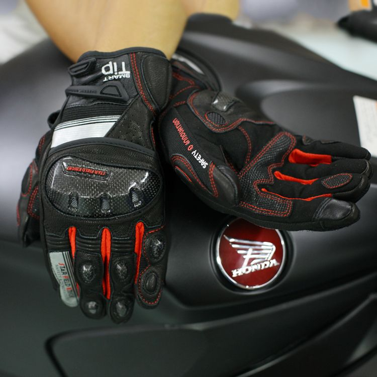 how-yes  NEW Motorcycle Gloves GP PRO Real Genuine Leather Glove Carbon Fibre Men Racing Motorbike Motocicleta guantes