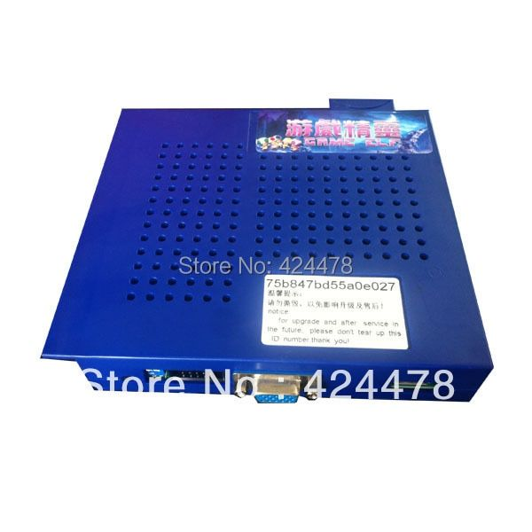 Hot sale Game Elf 619 in 1 Jamma Arcade Game PCB support CGA/VGA output for bartop and upright arcade